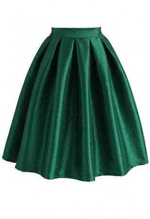 dark green poofy skirt - Google Search