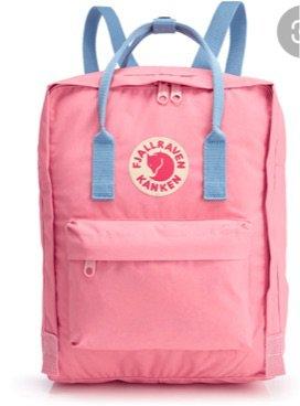 Pink And Blue Kanken backpack