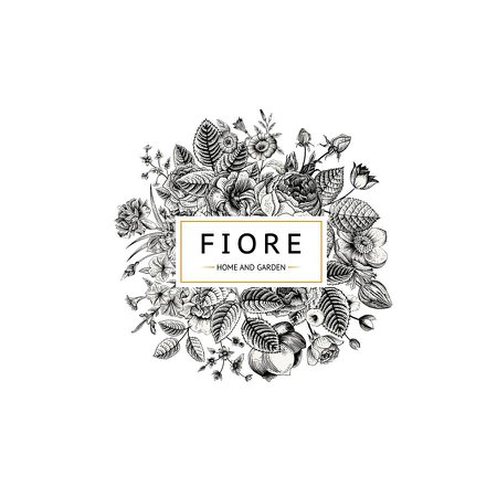 Entry #87 by fozlul09 for Fiore Logo Design | Freelancer