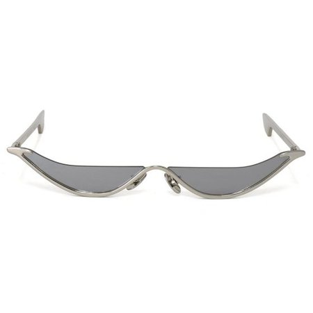 CHRISHABANA THE SLANT SUNGLASSES / SILVER (GREY)