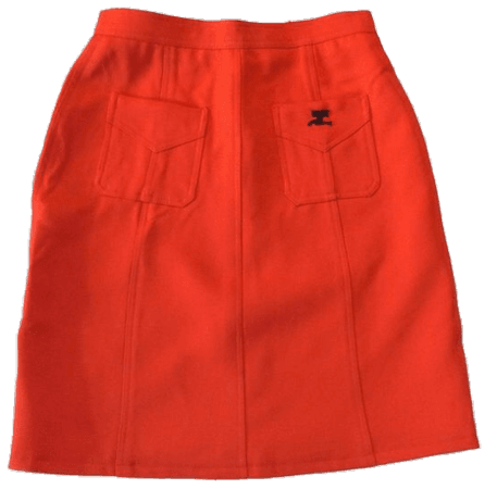 orange png skirt