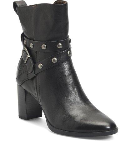 Børn Emma Block Heel Bootie (Women) | Nordstrom