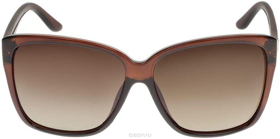 Brown glasses thik edges