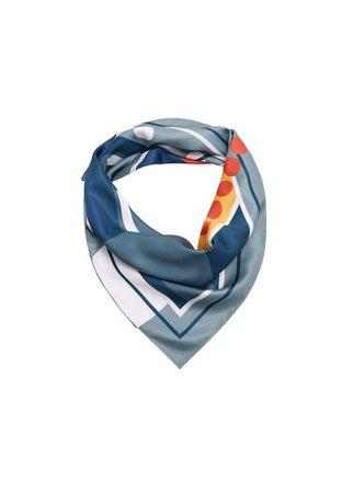 Violeta BY MANGO Multicolor print scarf