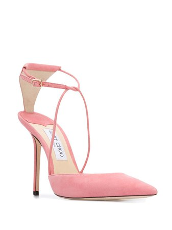 Jimmy Choo Leta 100mm pumps £624 - Buy Online - Mobile Friendly, Fast Delivery