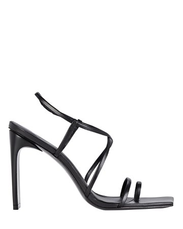 Cult Gaia Sandra Strappy Leather Sandals | INTERMIX®