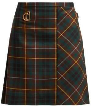 Bulkley Tartan Wool Kilt - Womens - Green Multi