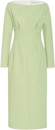 Emilia Wickstead Asher Slit Cady Dress