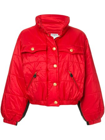 Chanel Pre-Owned 1980s Standing Collar Puffy Jacket - Farfetch