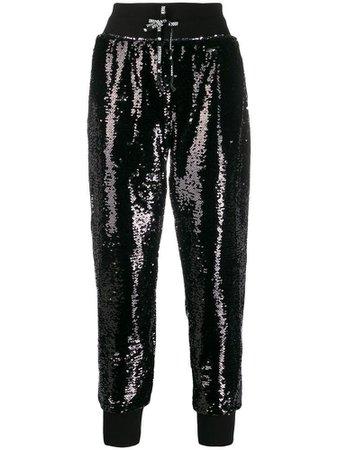 HYDROGEN embellished track pants