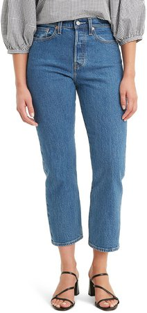The Wedgie High Waist Straight Leg Jeans