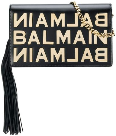 logo plaque crossbody
