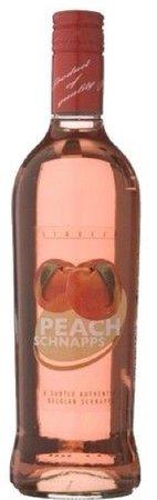 peach schnapps bottle