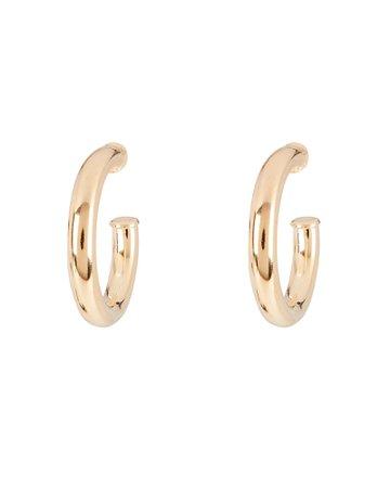 SHASHI Golden Hour Hoop Earrings | INTERMIX®