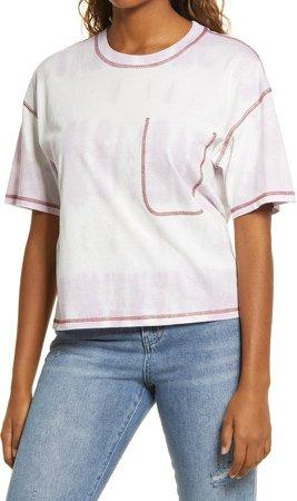 Contrast Stitch T-Shirt