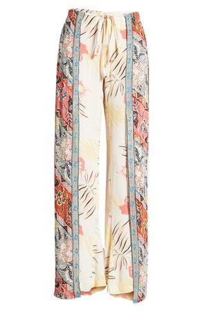 Billabong Adventure Spirit Print Wrap Front Pants   Nordstrom