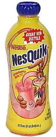 Nesquik Strawberry Milk - 32 oz, Nutrition Information   Innit