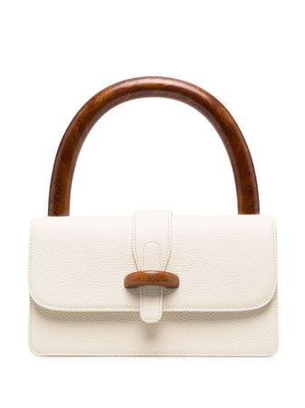 Cult Gaia wooden-handle Tote Bag - Farfetch