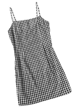 Gingham Cami Dress | Bulletin