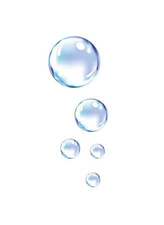 purple blue bubbles png filler