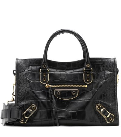 City S Leather Tote - Balenciaga |