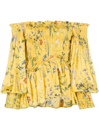 Alexis Floral Off the Shoulder Top