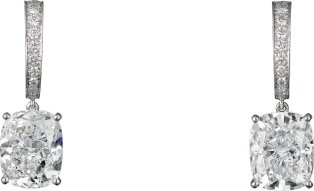 CRH8000077 - High Jewelry 1895 earrings - Platinum, diamonds - Cartier