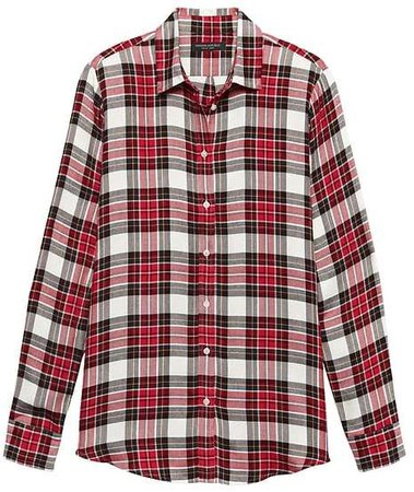 Dillon Classic-Fit Tartan Plaid Flannel Shirt