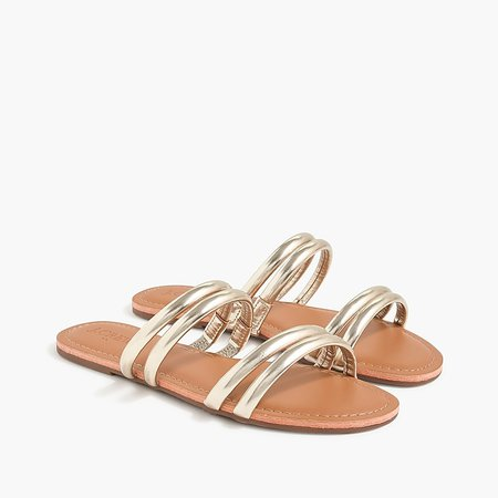 J.Crew Factory: Seaside Slide Sandals For Women