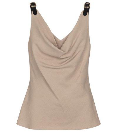 Altuzarra - Zaria linen-blend camisole | Mytheresa