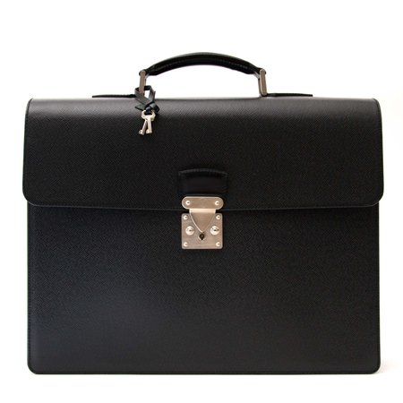 Labellov Louis Vuitton Briefcase Associé Taïga ● Buy and Sell Authentic Luxury