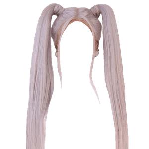 Platinum Blonde Hair PNG
