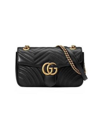Gucci GG Marmont small matelassé leather shoulder bag