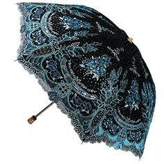 (1) Pinterest - New Women Embroidery Flower Sun Rain Umbrellas Anti UV Lace two folding Parasol #RainbowHouse #Parasol | ANTI UV umbrella parasol