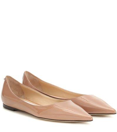 Love Patent-Leather Ballet Flats - Jimmy Choo   Mytheresa