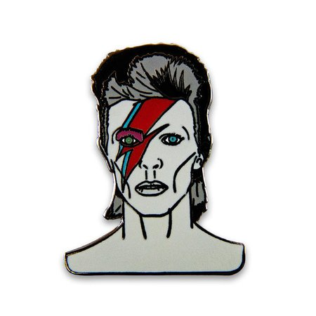 David Bowie Lapel Pin | Etsy