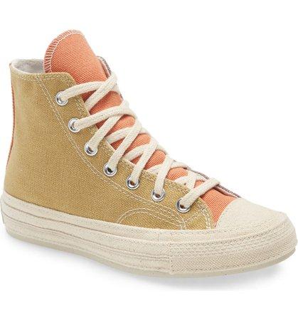 Converse Chuck Taylor® All Star® Renew Cotton Chuck 70 High Top Sneaker (Women) | Nordstrom