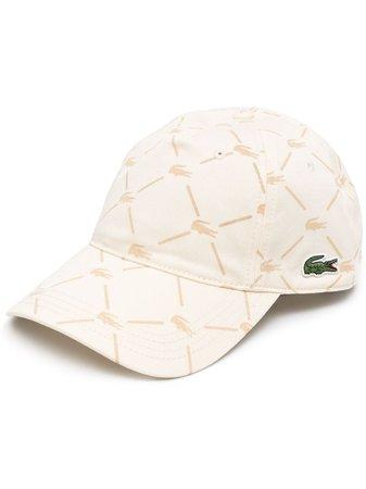 Lacoste all-over logo-print cap