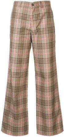 Go Getter plaid trousers