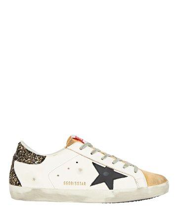 Golden Goose Superstar Leather Sneakers | INTERMIX®