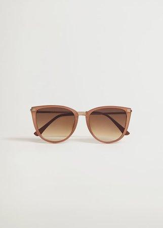 Gafas de sol ovaladas - Mujer   Mango España