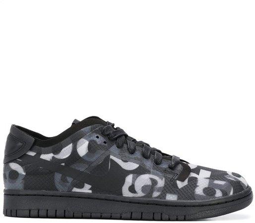 x Nike Dunk monograph sneakers