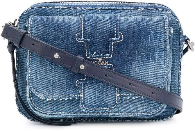 Denim Crossbody Bag