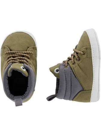 Baby Boy Carter's Monster Boot Baby Shoes | Carters.com