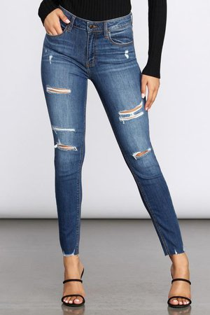 Women's Denim Bottoms | Jeans, Denim Jumpsuits, Jean Overalls | Windsor