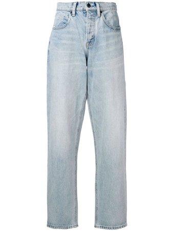 ALEXANDER WANG side zip jeans