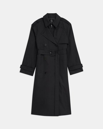 Trench Coat in Cotton Twill