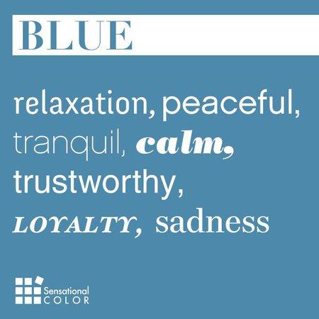 Describe blue