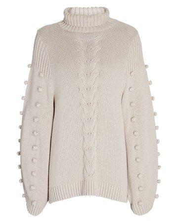 Joslin Katie Cotton-Cashmere Turtleneck Sweater | INTERMIX®