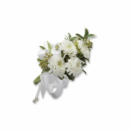 fall white mums corsages - Google Search